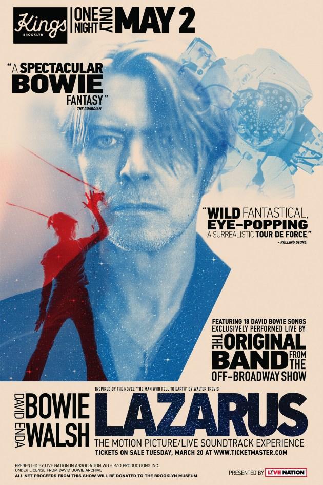 FILM | Lazarus - David Bowie Musical - Official Website